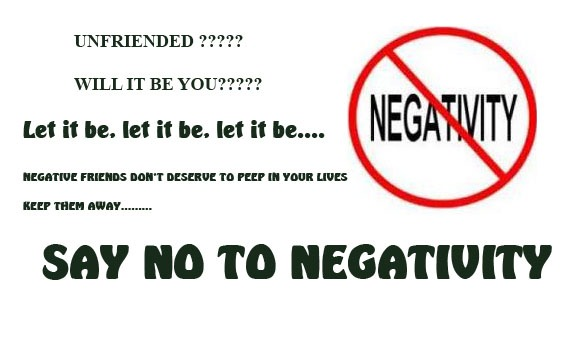 Negativity Hurts N Shatters