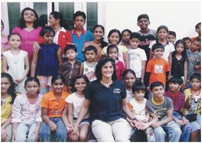 Kidsfreesouls Children With  Sunita Williams