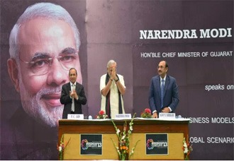Chief Minister Narendra Modi's inspiring speech at SRCC, Delhi