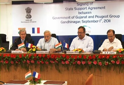 Gujarat moving towards becoming Global Automotive Manufacturing Hub