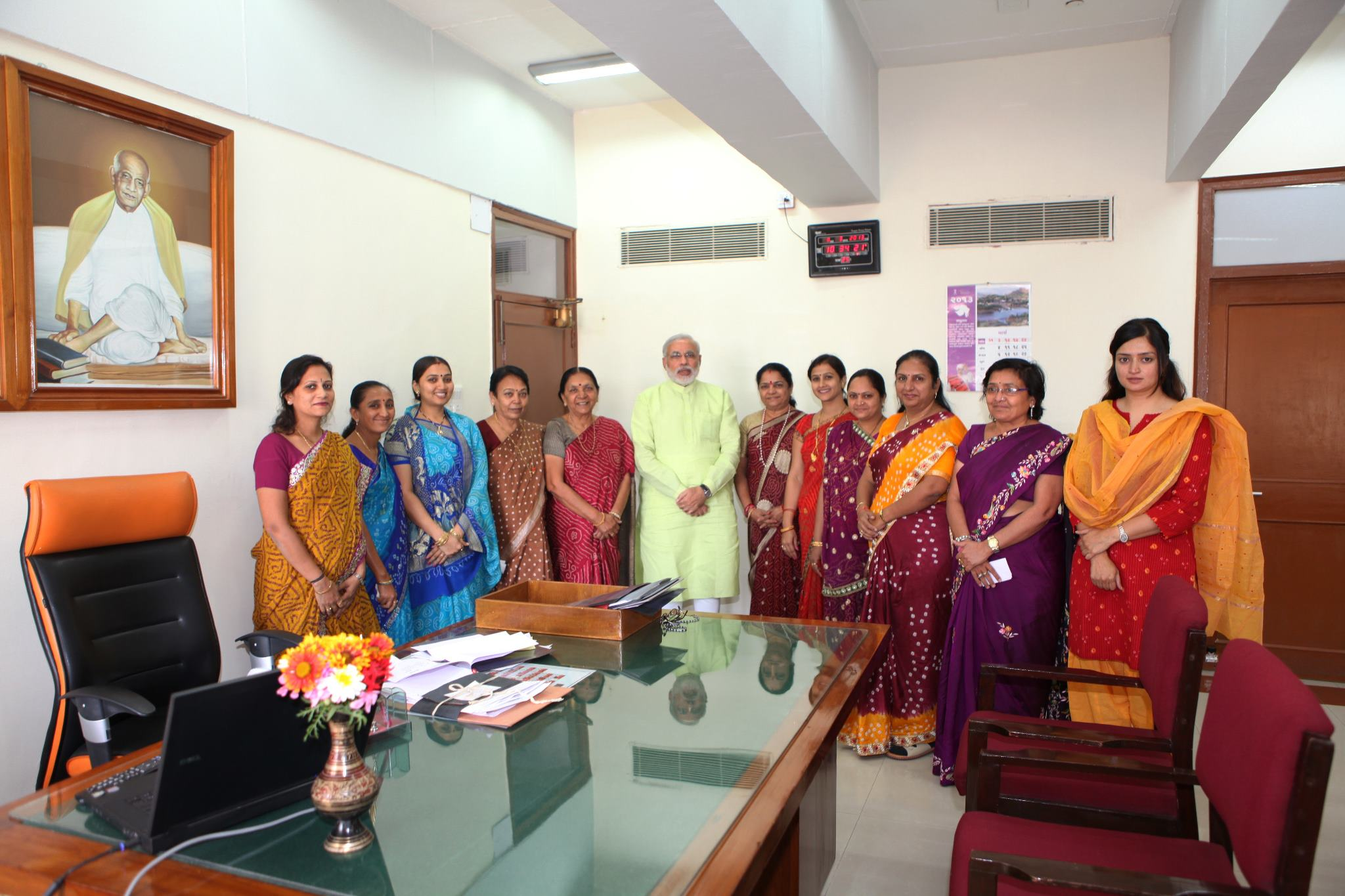 Women MLAs paid courtesy visit to CM