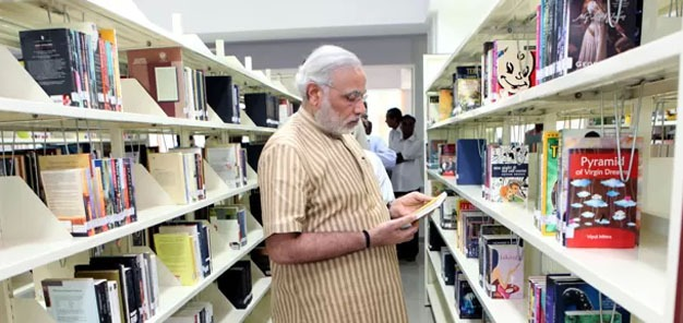 CM inaugurates new Central Library of Gujarat Information Department
