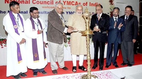CM inaugurated the National Consultation of YMCA brand building