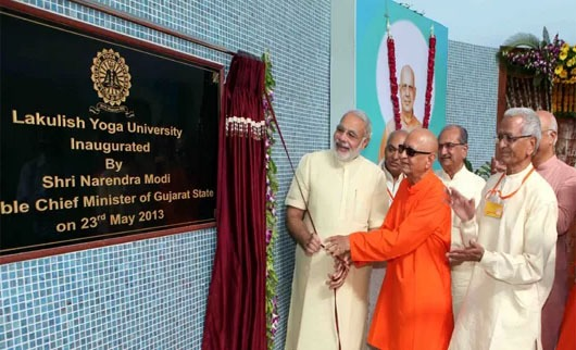CM inaugurated Lakulish Yoga University