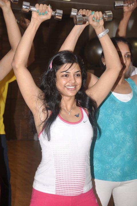 Zumba Dance on the floor with Ruju Desai