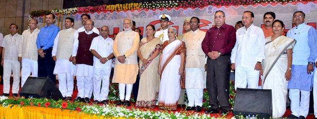 Anandiben Patel as CM of Gujarat