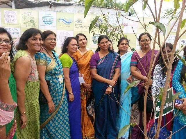 CM Anandiben Patel tree plantation drive