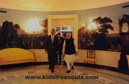 PM Narendra Modi meets President Obama
