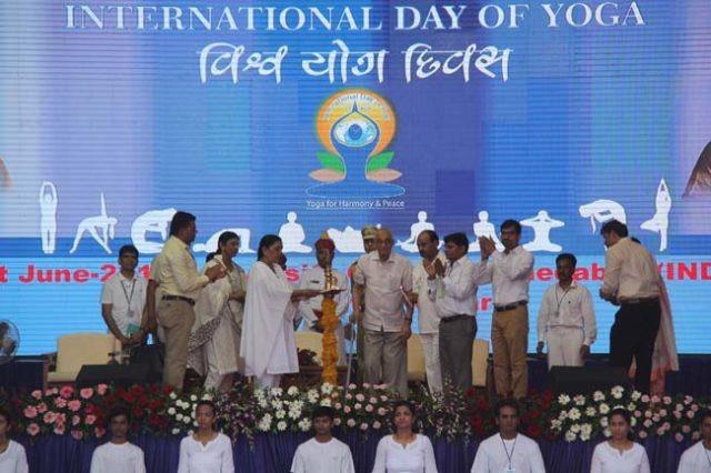 yoga inauguration