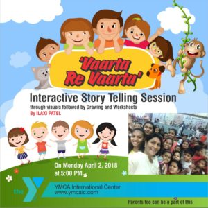 Step into the world of Imagination : Story Telling