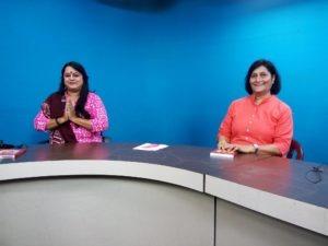 Interviewed for Nirante Show on Doordarshan