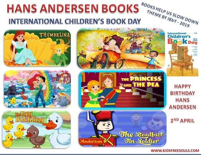 Hans Christian Andersen Kidsfreesouls Newspaper For Kids With Resources For Parents And Teachers